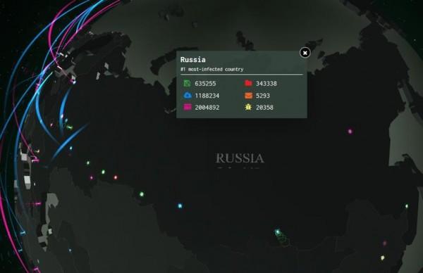اینجا تهدیدات سایبری جهان را به صورت آنلاین تماشا کنید!