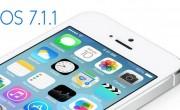 آپدیت iOS 7.1.1 اپل از راه رسید