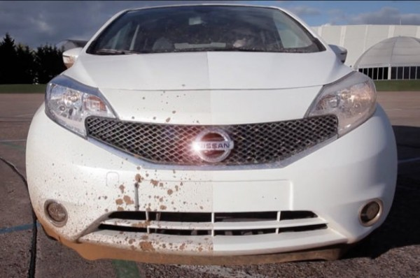تماشا کنید:خودرویی که هیچگاه کثیف نمی شود!