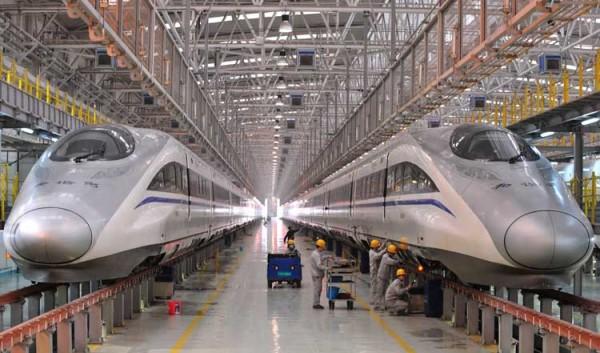 چين در پي احداث خط راه آهن پرسرعت با عبور از زیر اقیانوس آرام به آمريکا است !