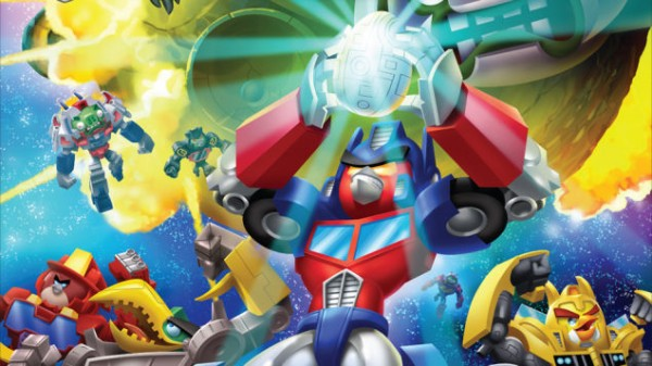 Angry Birds Transformers؛ پرندگان خشمگین حالا به ربات تبدیل میشوند!