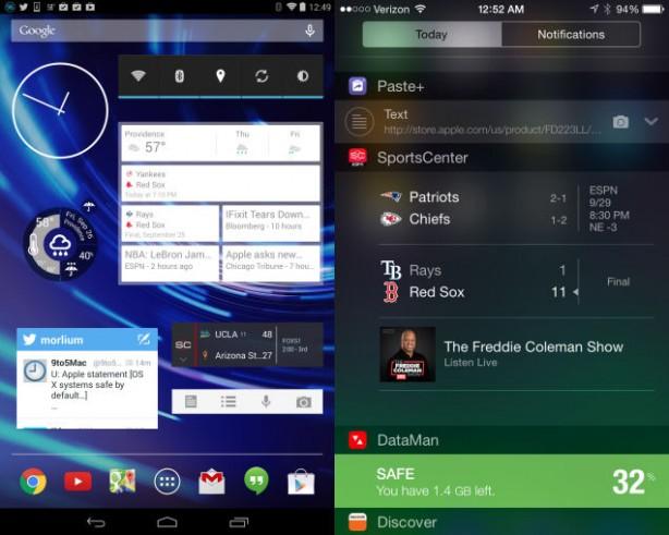 widgets-compare