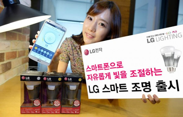 LG از چراغ های هوشمند LED رونمایی کرد که هم با iOs و هم با اندروید کارمیکند