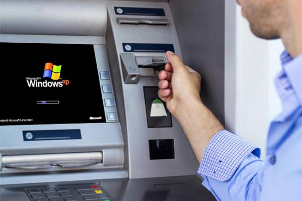علیرغم پایان پشتیبانی از ویندوز ایکسپی، 1.5 میلیون دستگاه ATM از این سیستمعامل استفاده خواهند کرد