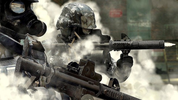 پدری که برای منع فرزندانش از انجام بازی Call of Duty آنان را به میدان جنگ برد!