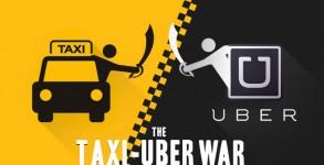 نبرد اوبر با Lyft و شرکت های تاکسیرانی سنتی